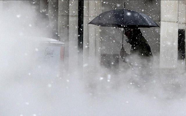 Qar fırtınası 70 milyon insanın həyatını iflic etdi