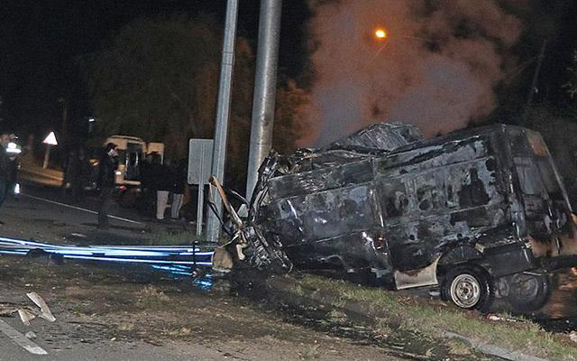 Avtobus qəzası - 15 ölü, 30 yaralı