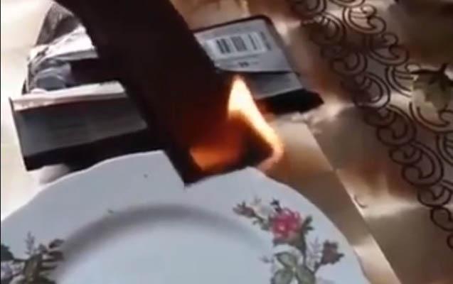 Yanan şokolad təhlükəlidir?