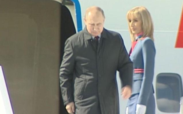 Putin 8 nazirlə Ankarada
