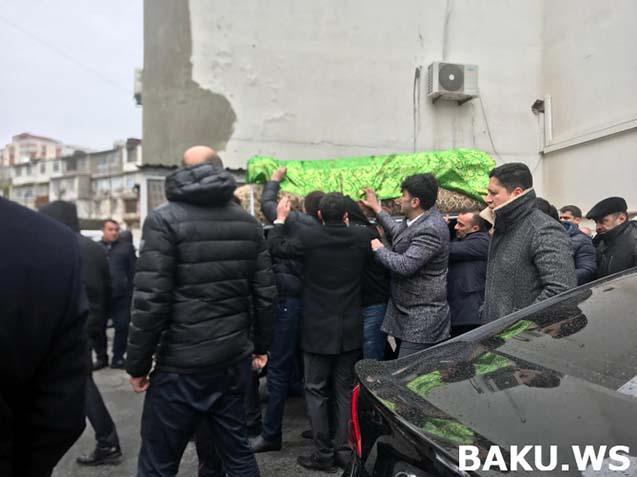 Səbinə Mirzəyeva dəfn edildi - Fotolar
