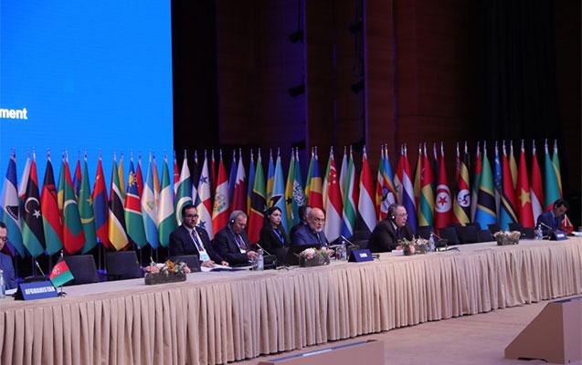 Bakıda beynəlxalq toplantı başladı - 800 iştirakçı var + İlham Əliyev iclas ...