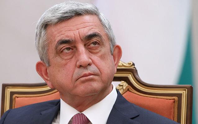 Sarkisyan müxalifəti danışıqlar masasına dəvət etdi