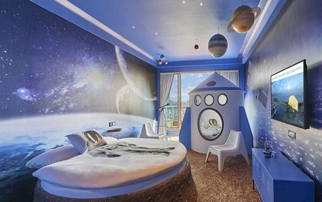 Kosmosa lük hotel buraxılır