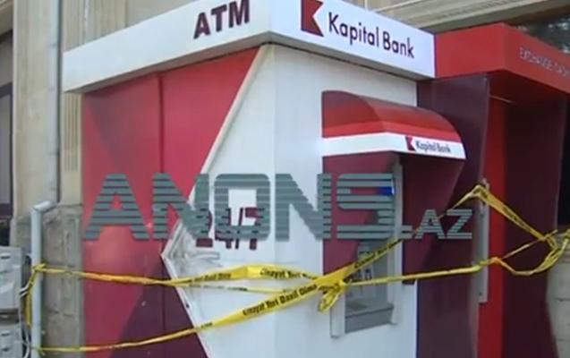 Bu da laqonda ilə kəsilən bankomat... - Video