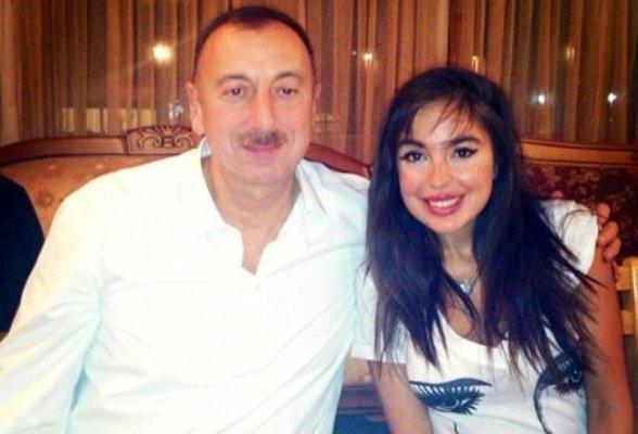 """Leyla Əliyeva atasını təbrik etdi - """"Qoy günəş ölkəmizin üzərində daim parl ..."""