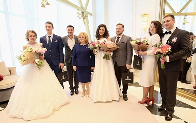 Emin Ağalarov nikah evi açdı - Fotolar