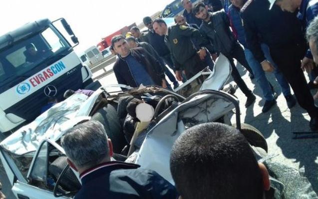 Bakıda yol polisi postunda ağır qəza