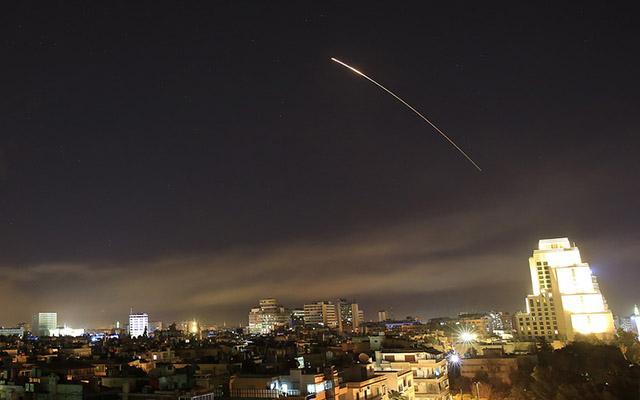 İsrail bu dəfə Suriyanı bombaladı
