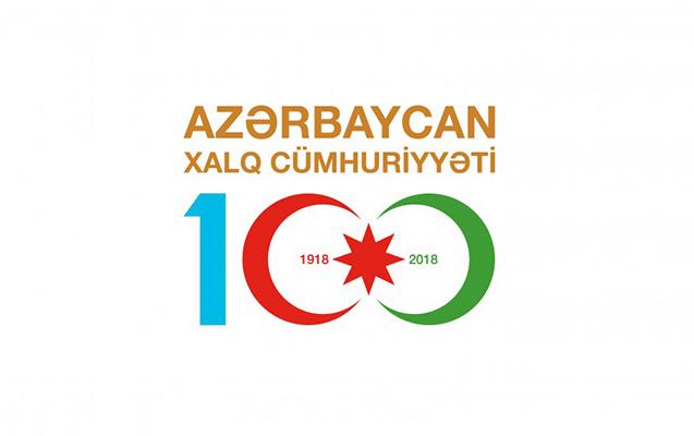 """""""Azərbaycan Xalq Cümhuriyyəti 100"""" loqotipi hazırlandı"""