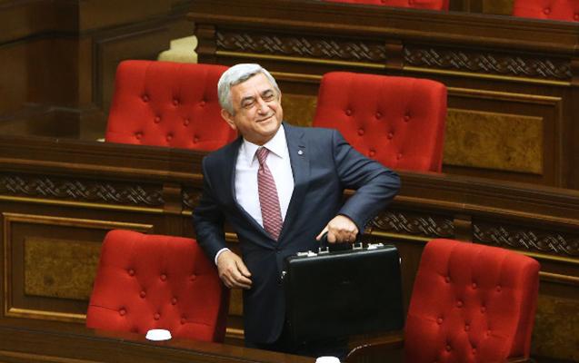 Serj Sarkisyan baş nazir seçildi