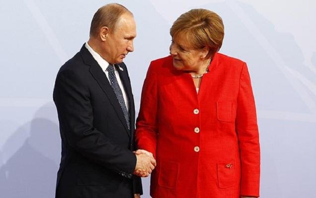 Putinlə Merkel ABŞ-ı narahat edən məsələdən danışdı