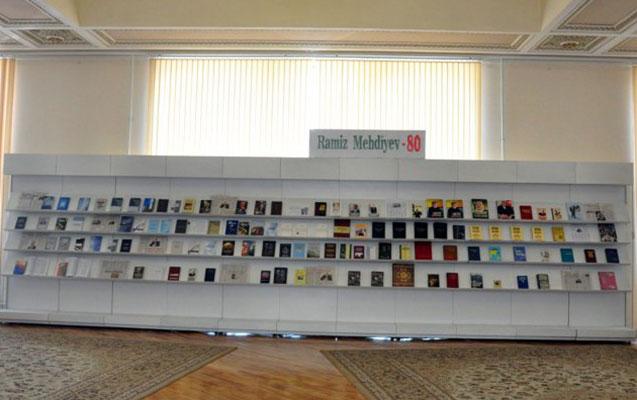 Ramiz Mehdiyevin kitab sərgisi açıldı