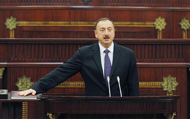 İlham Əliyev and içdi - Yenilənib