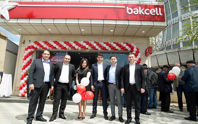 """Cəlilabadda """"Bakcell""""in yenilənmiş mərkəzi təqdim edilib"""