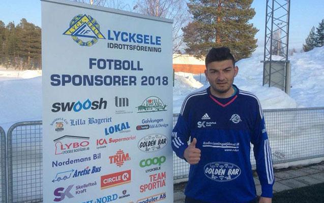 Azərbaycanlı futbolçu İsveç klubunda