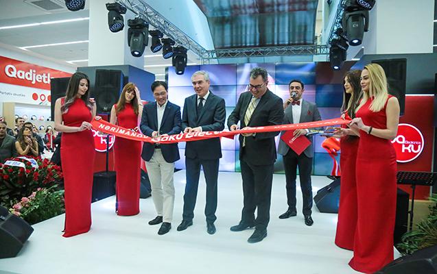 Nərimanovda Qafqazın ən böyük elektronika mağazası açıldı