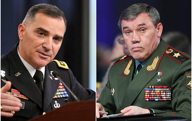 Rusiya və ABŞ generalları Bakıda