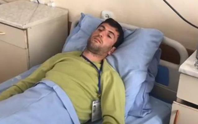 Ermənistanda aksiya zamanı jurnalist döyülüb