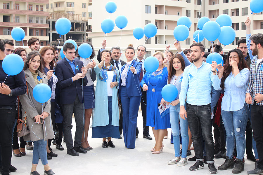 Azərbaycan Universitetində autizmə dəstək aksiyası