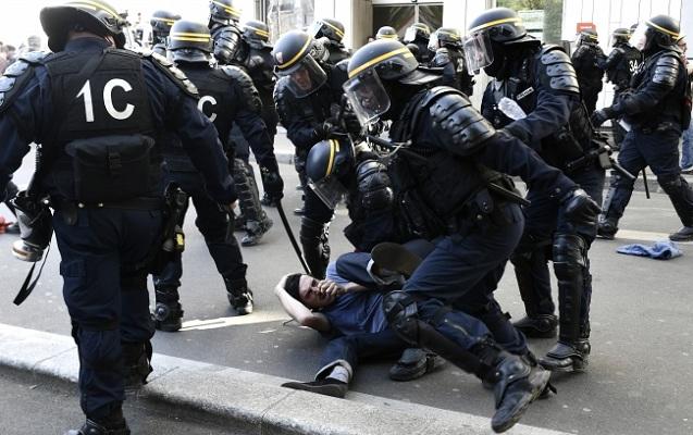 Fransada kütləvi aksiyalar davam edir