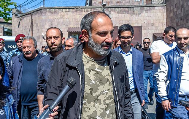 Ermənistanda müxalifət lideri sərbəst buraxıldı