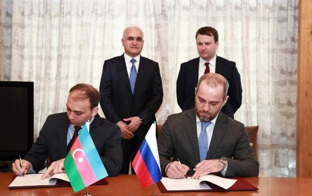 Nazirlər Azərbaycan-Rusiya iqtisadi əlaqələrini müzakirə edib