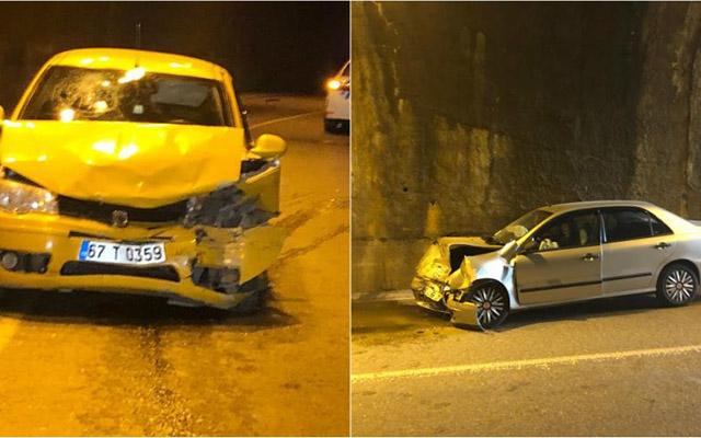 Türkiyədə qəza nəticəsində 8 nəfər yaralanıb