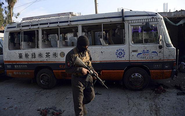 Taliblər 4 əfqan polisini öldürüb