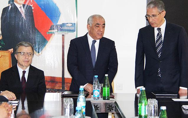 Hüseyn Bağırov yeni nazirin təqdimatında - Fotolar