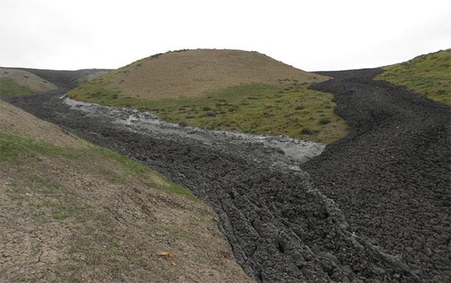 Qaradağda püskürən vulkanla bağlı açıqlama