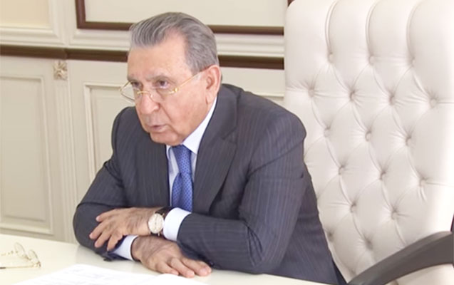 """""""Rüşvətxorluğa son qoyulmalıdır"""" - Ramiz Mehdiyev"""