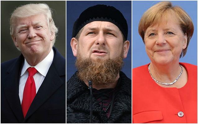 """""""Merkel və Tramp gəlsə, həbs ediləcəklər"""" - Kadırovdan təhdid"""