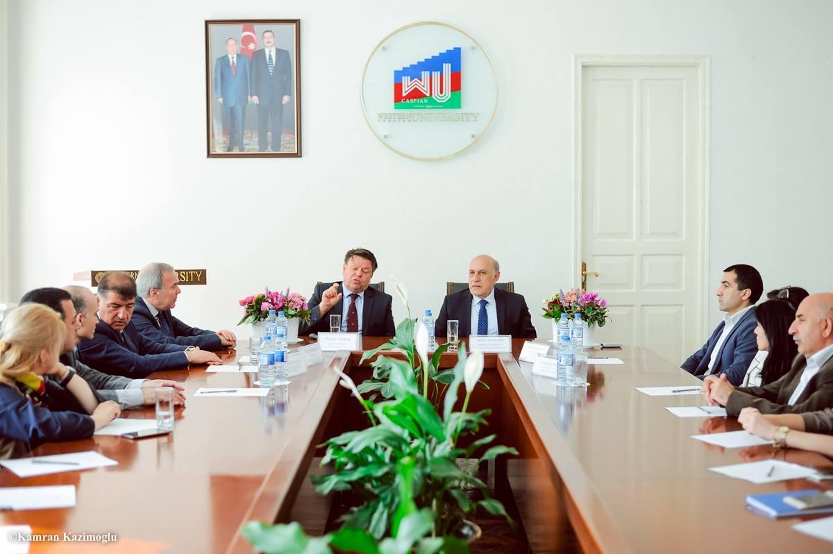 Dünya Meteorologiya Təşkilatının baş katibi Qərbi Kaspi Universitetində