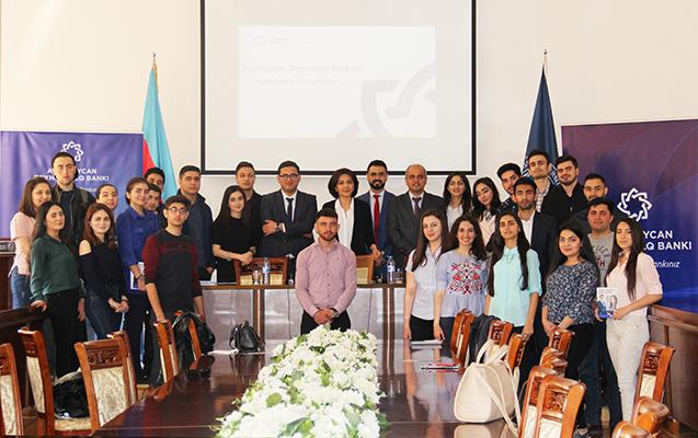 Azərbaycan Beynəlxalq Bankı UNEC-də karyera günü keçirib