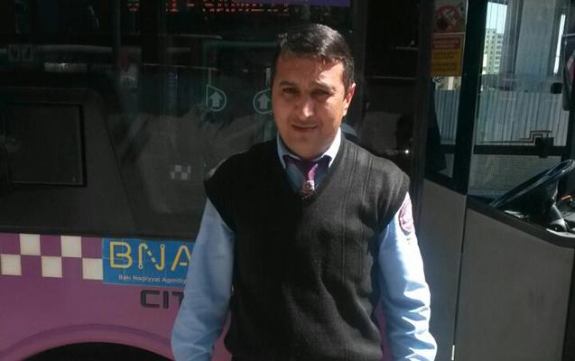 Avtobus sürücüsündən getməyə yeri olmayan qadına dəstək