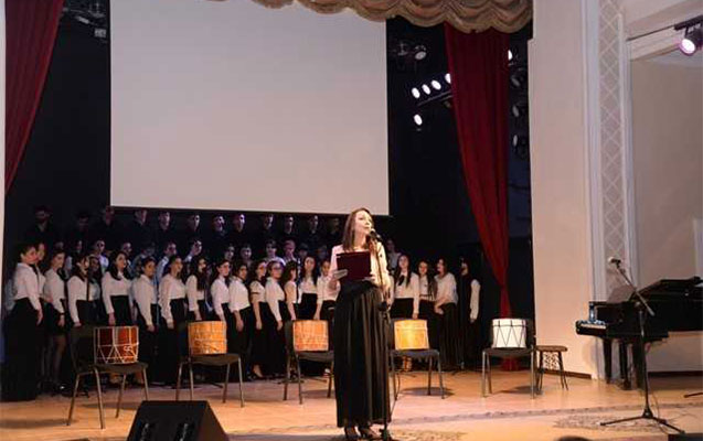 Zərifə Əliyevanın xatirəsinə həsr olunmuş  konsert keçirilib