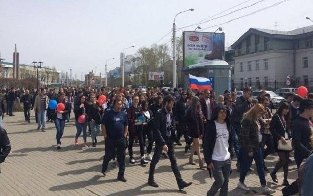 Rusiyada kütləvi aksiyalar keçirilir - Müxalifət lideri saxlanıldı + Fotola ...