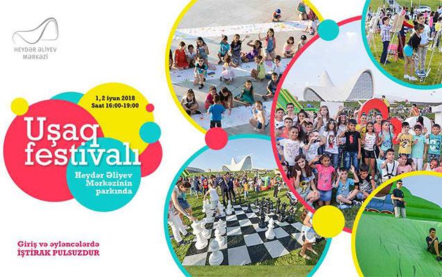 Uşaqlar üçün festival olacaq