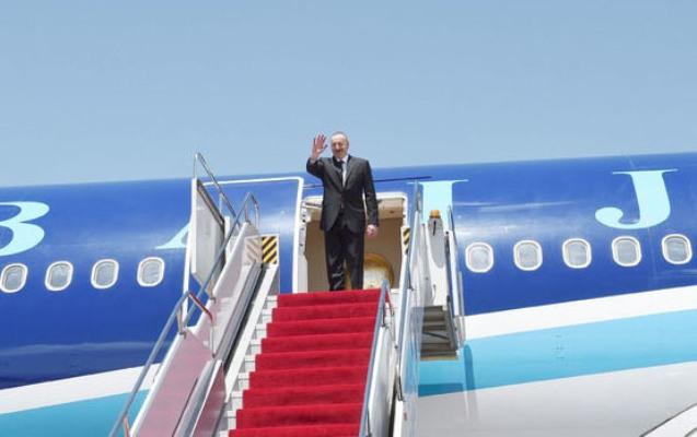 Prezidentin Naxçıvana səfəri başa çatıb