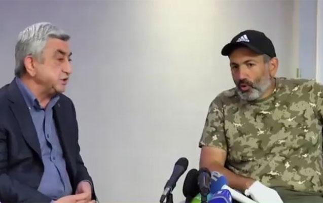 Paşinyan Sarkisyanla görüşmək istəyir