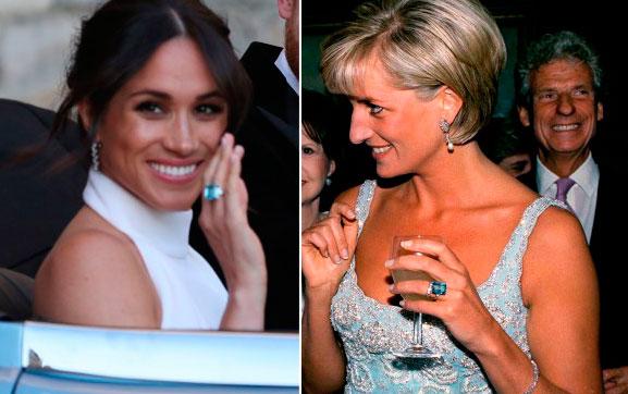 Şahzadə Diananın üzüyü gəlininə verildi