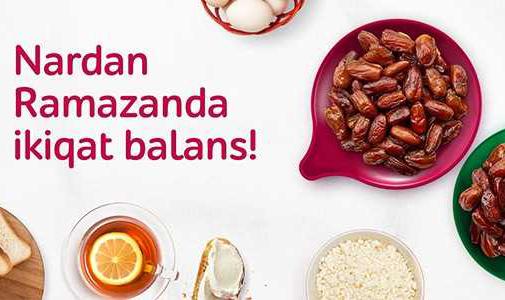 """""""Nar""""dan Ramazan fürsəti"""