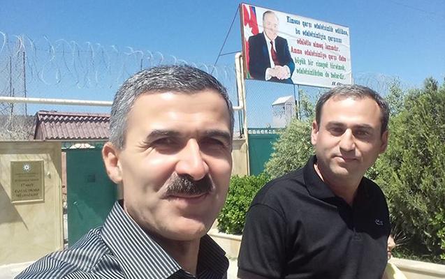 Əfqan Sadıqov azadlığa çıxdı