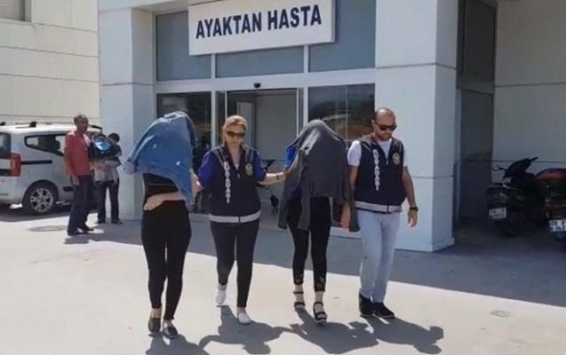 Türkiyədə fahişəlik edən 2 azərbaycanlı qadın saxlanıldı