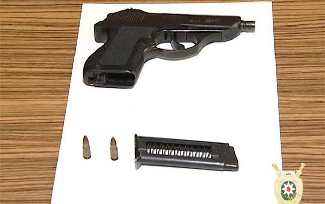 Polis silah-sursat tapdı