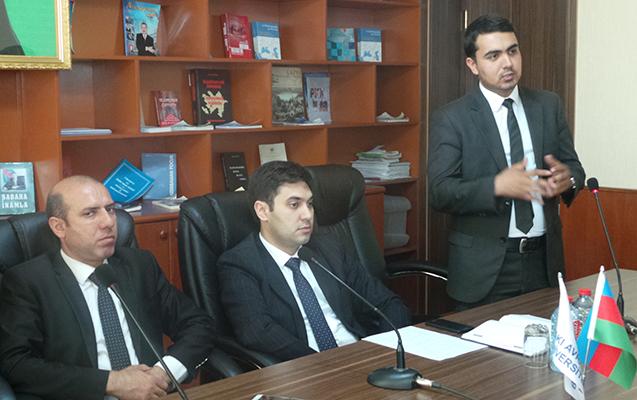 """Bakı Avrasiya Universitetində """"Diaspor dərsi"""""""