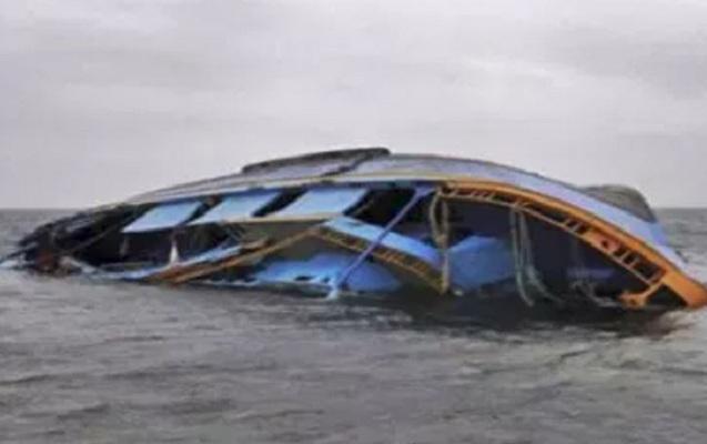 Konqoda gəmi batdı