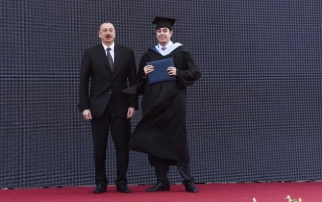 Heydər Əliyev məzun oldu