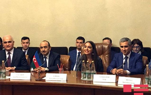 Leyla Əliyeva qubernatorla görüşdü